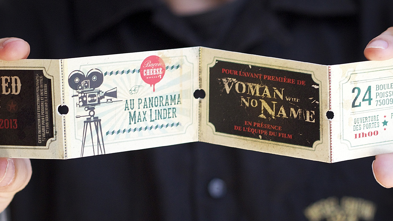 Woman With No Name Premiere pass by Marie Tigoulet and Annabelle Nebout